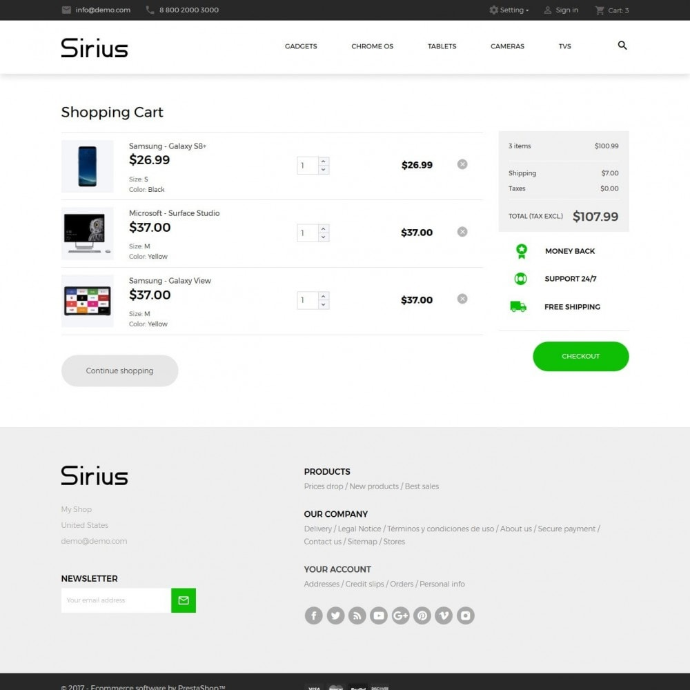 theme - Electronics & Computers - Sirius - High-tech Shop - 9