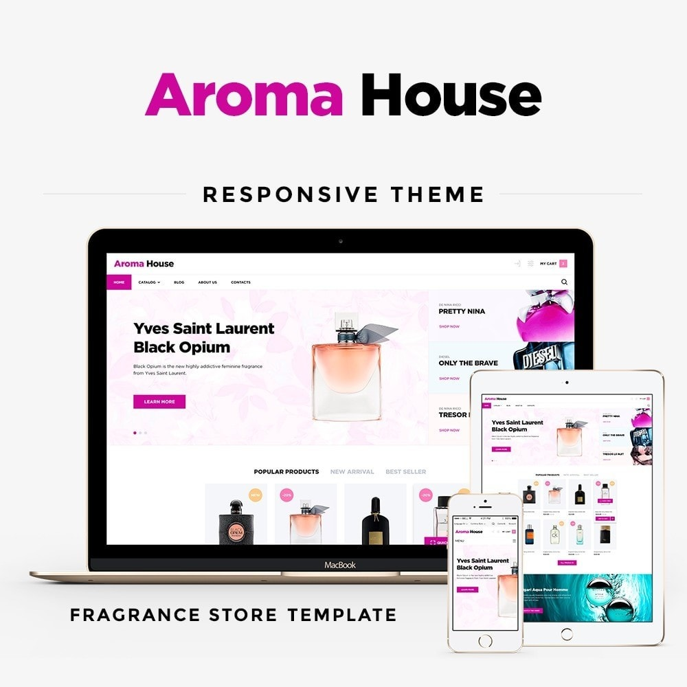 theme - Salud y Belleza - Aroma House - 1