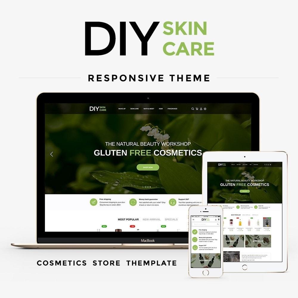 theme - Zdrowie & Uroda - DIY skin care Cosmetics - 1