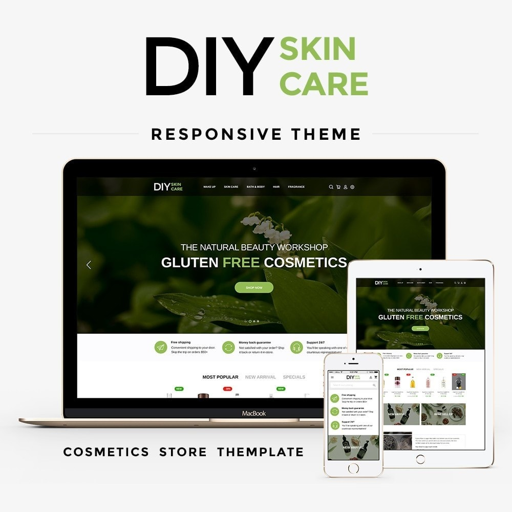 theme - Santé & Beauté - DIY skin care Cosmetics - 1
