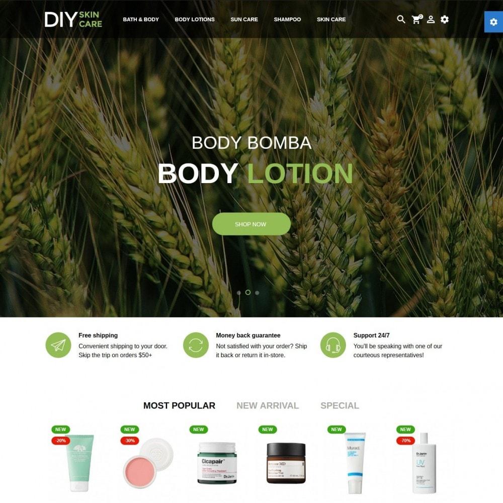theme - Zdrowie & Uroda - DIY skin care Cosmetics - 2