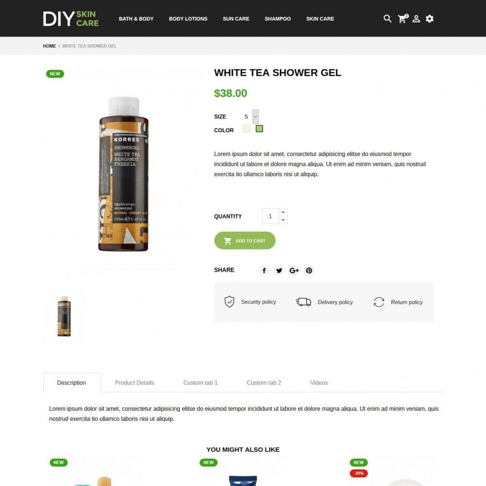 theme - Zdrowie & Uroda - DIY skin care Cosmetics - 6