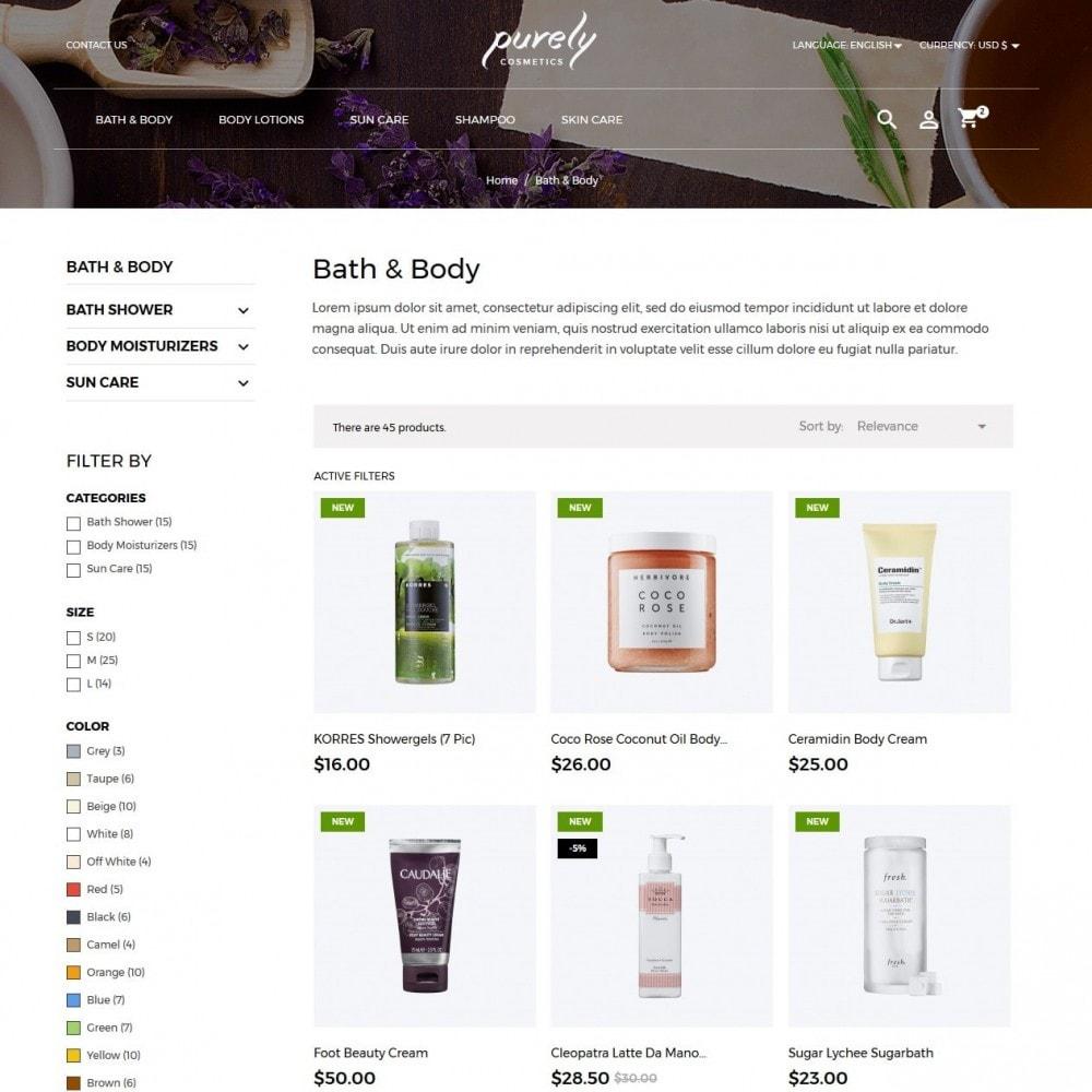 theme - Santé & Beauté - Purely Cosmetics - 4