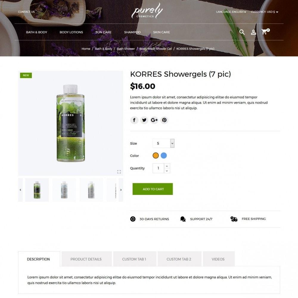 theme - Santé & Beauté - Purely Cosmetics - 5