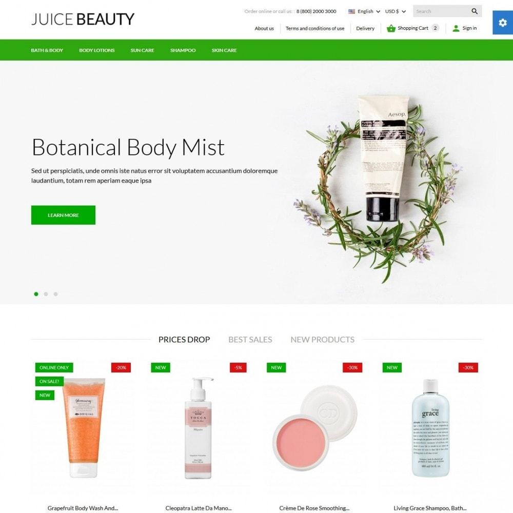 theme - Здоровье и красота - Juice Beauty Cosmetics - 2