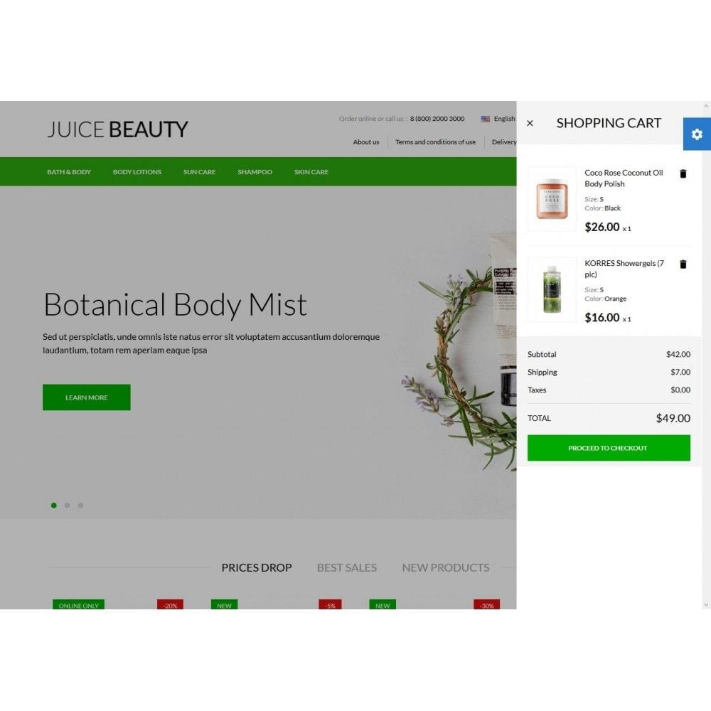 theme - Santé & Beauté - Juice Beauty Cosmetics - 3