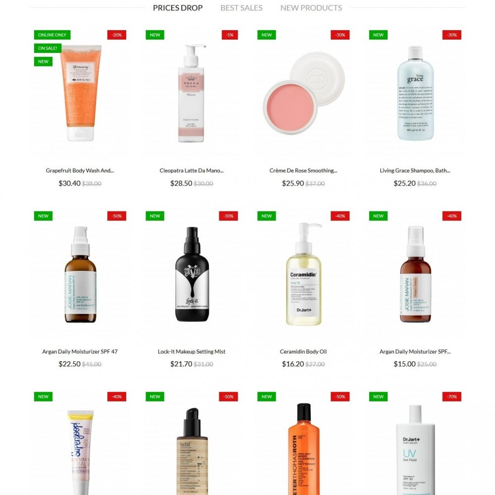 theme - Salute & Bellezza - Juice Beauty Cosmetics - 4
