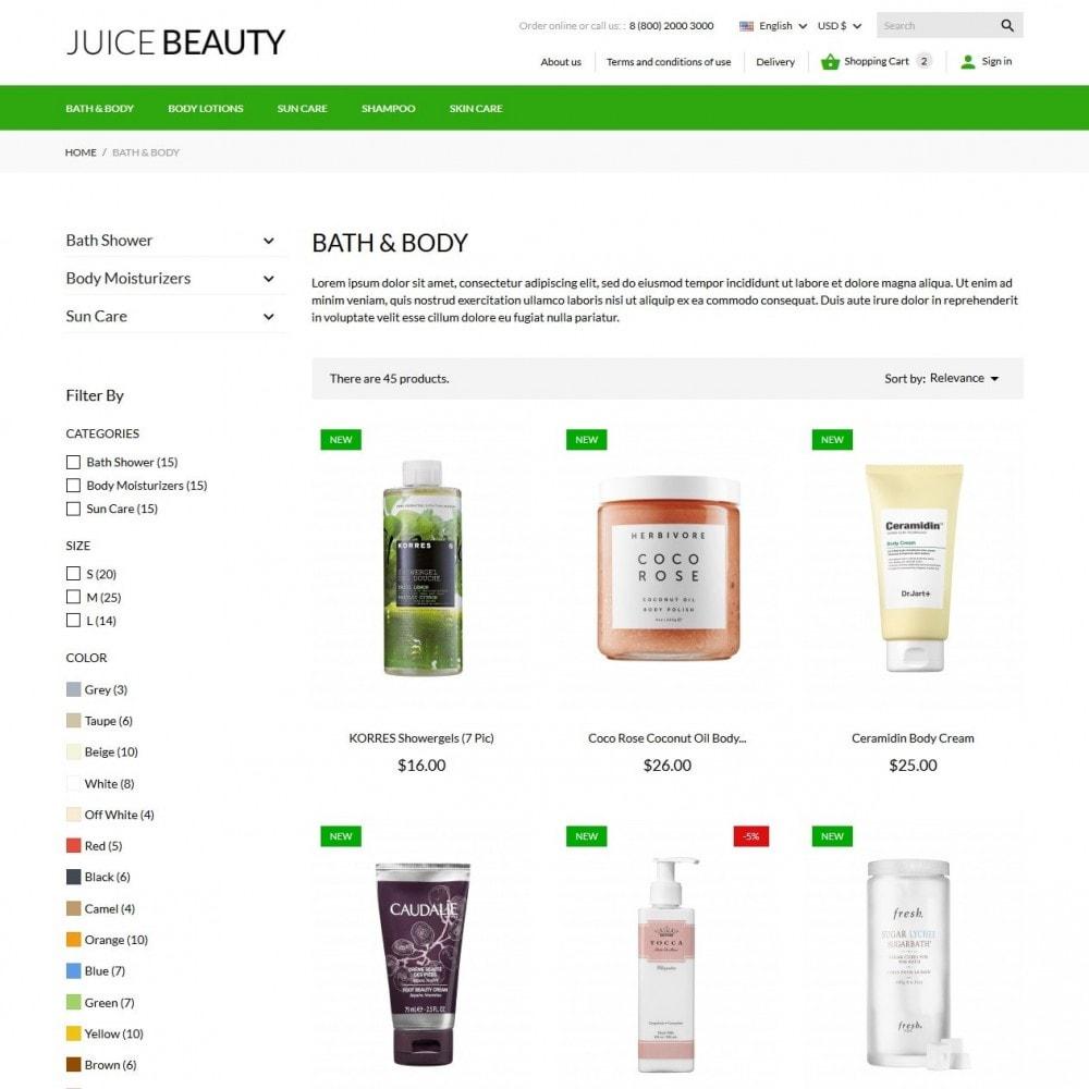 theme - Santé & Beauté - Juice Beauty Cosmetics - 6