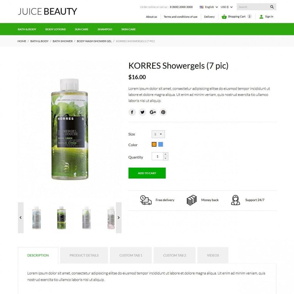 theme - Santé & Beauté - Juice Beauty Cosmetics - 7