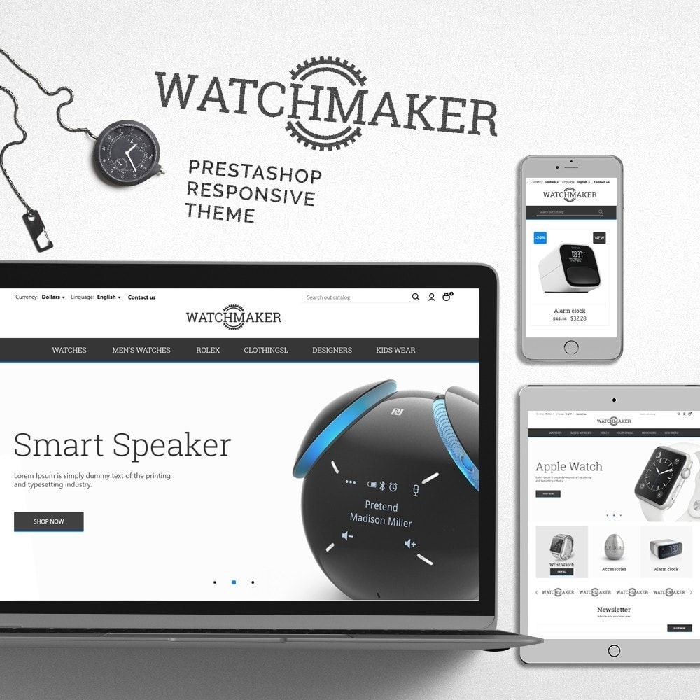 theme - Bijoux & Accessoires - Watchmaker - 1