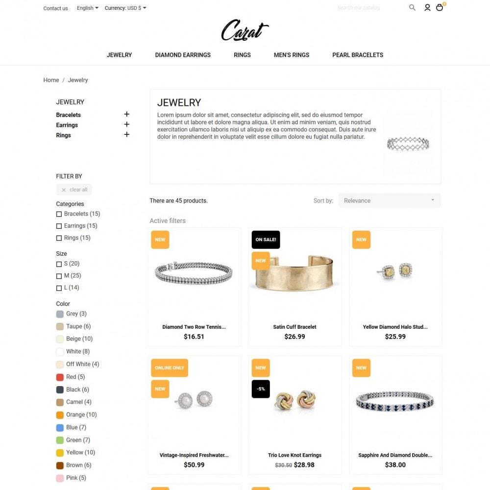theme - Biżuteria & Akcesoria - Carat - 5