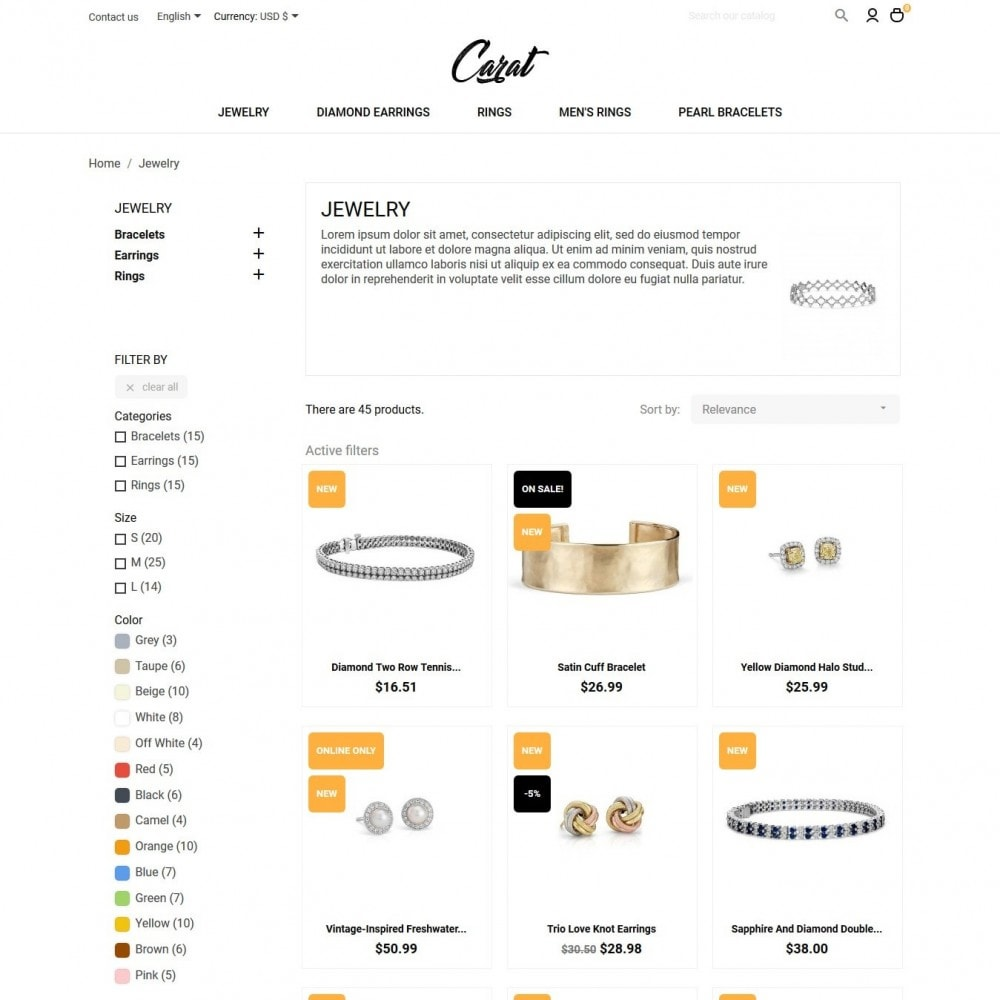 theme - Jewelry & Accessories - Carat - 5