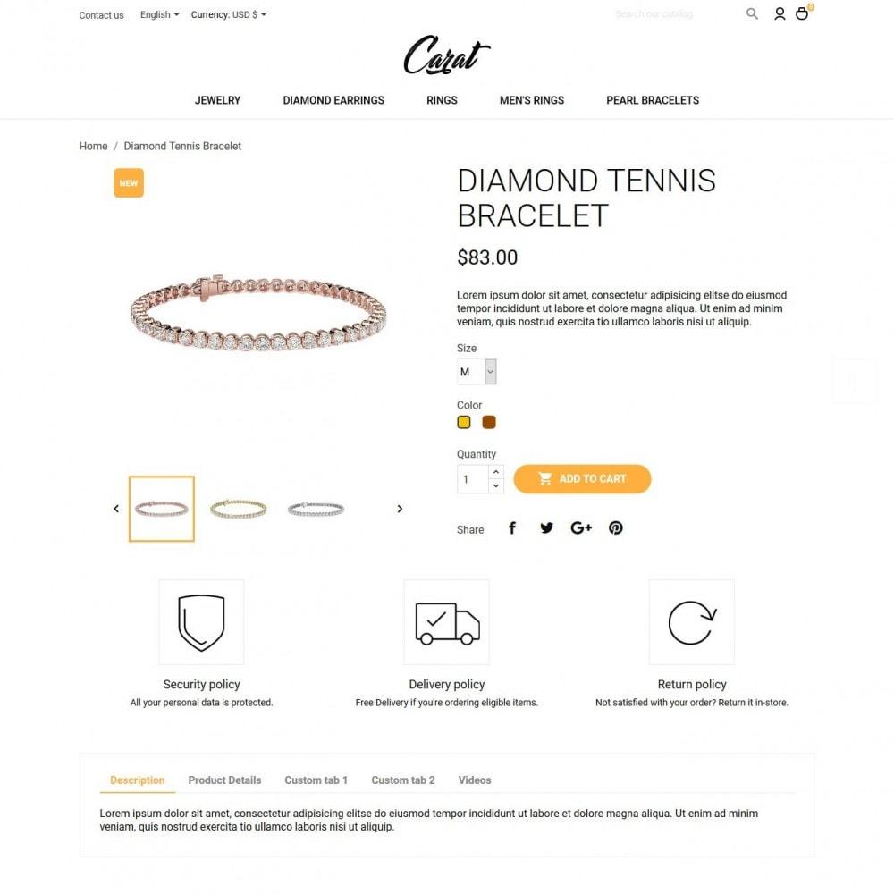 theme - Biżuteria & Akcesoria - Carat - 6