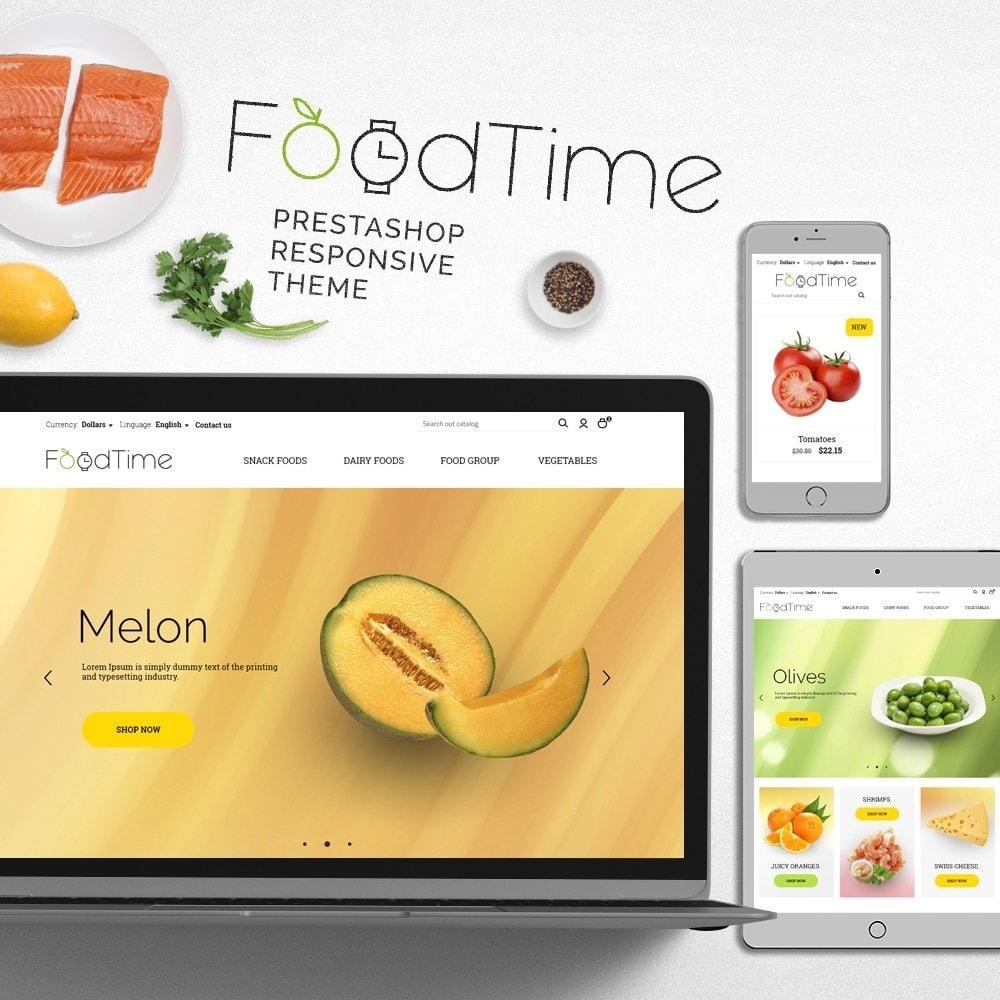 theme - Lebensmittel & Restaurants - FoodTime - 1