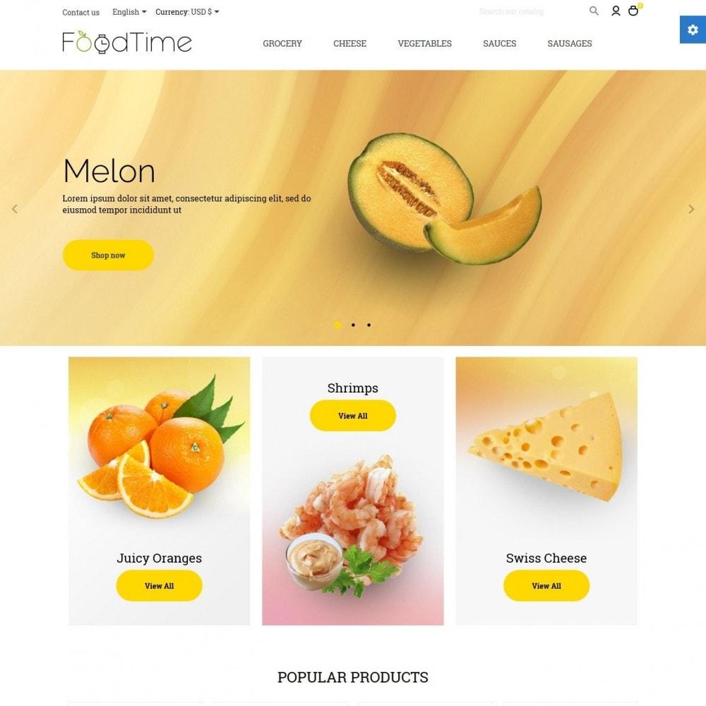 theme - Lebensmittel & Restaurants - FoodTime - 2
