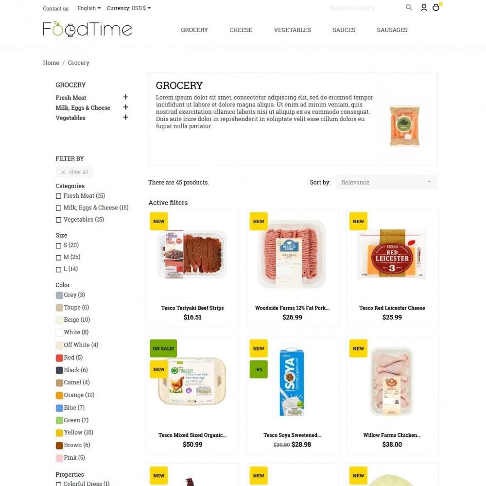 theme - Lebensmittel & Restaurants - FoodTime - 5