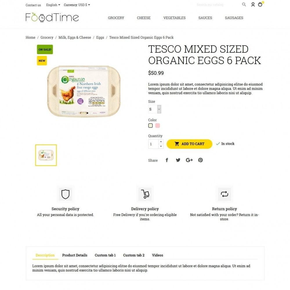 theme - Lebensmittel & Restaurants - FoodTime - 6