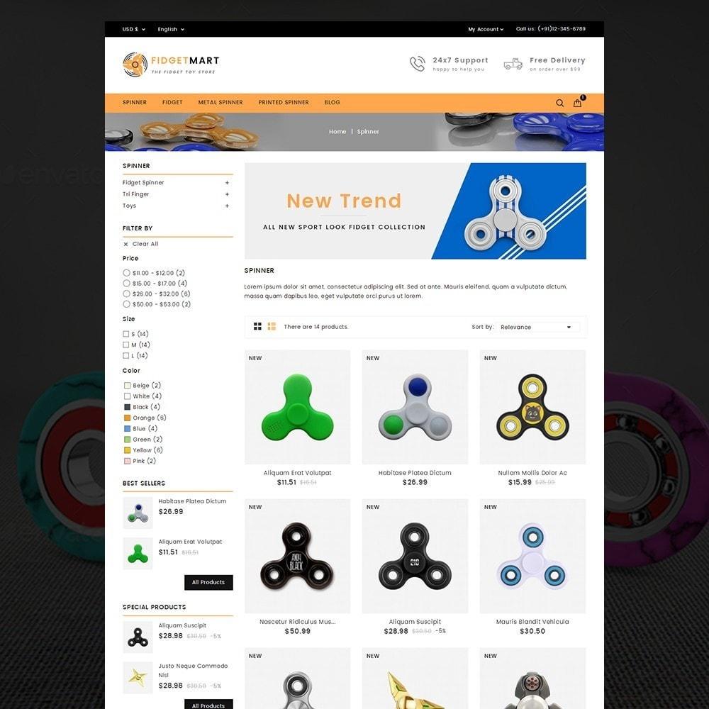 theme - Crianças & Brinquedos - Fidget Mart - 3