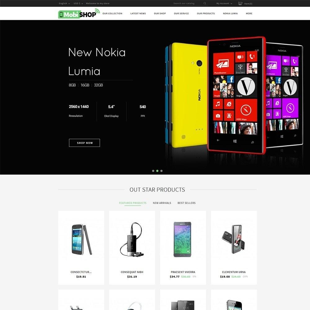 theme - PrestaShop Themen - Mobishop Onestop Mobile Store - 2