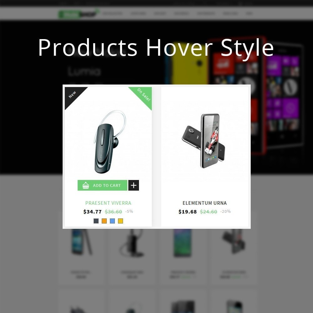 theme - Template PrestaShop - Mobishop Onestop Mobile Store - 12