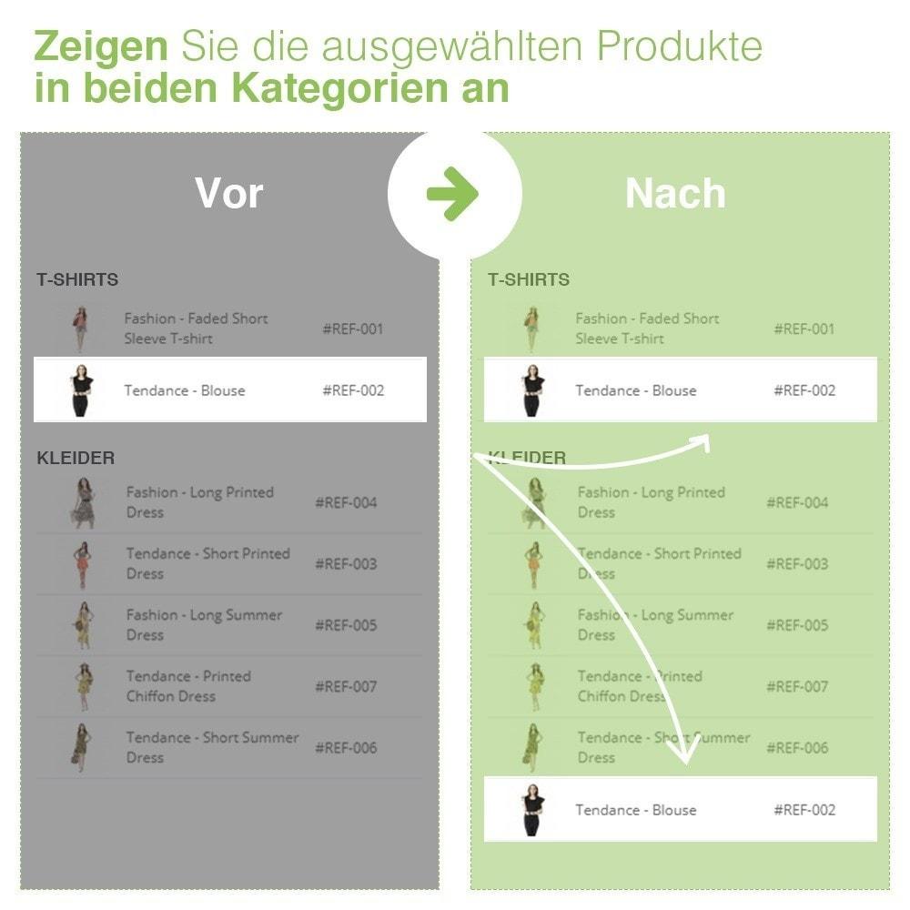module - Quick Eingabe & Massendatenverwaltung - Verschieben und Zuordnen Produkten unter Kategorien - 8