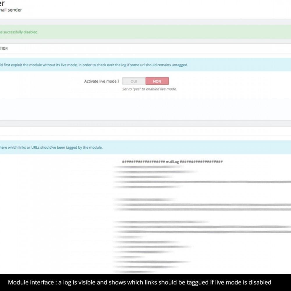 module - Analysen & Statistiken - UTM mail tagger - 1