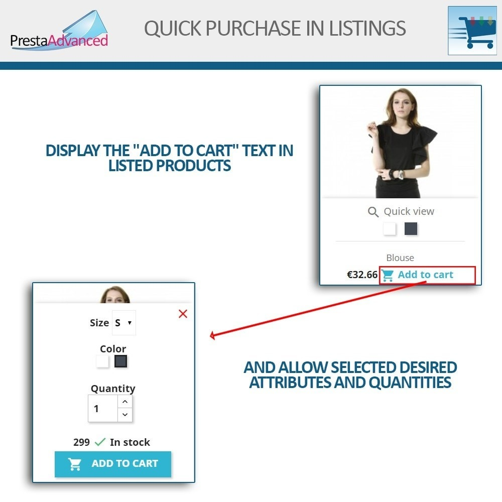 module - Express Checkout Process - Fast purchase from listings - 3