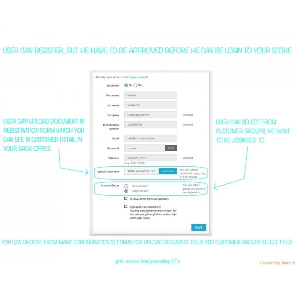 module - B2B - B2B Validierung Reg. User und Preisedecken für Besucher - 1