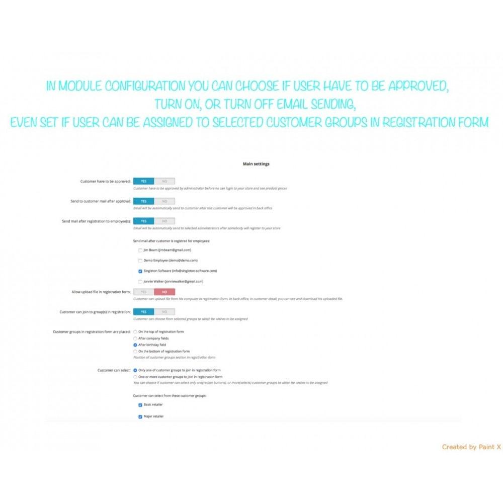 module - B2B - B2B Validierung Reg. User und Preisedecken für Besucher - 5