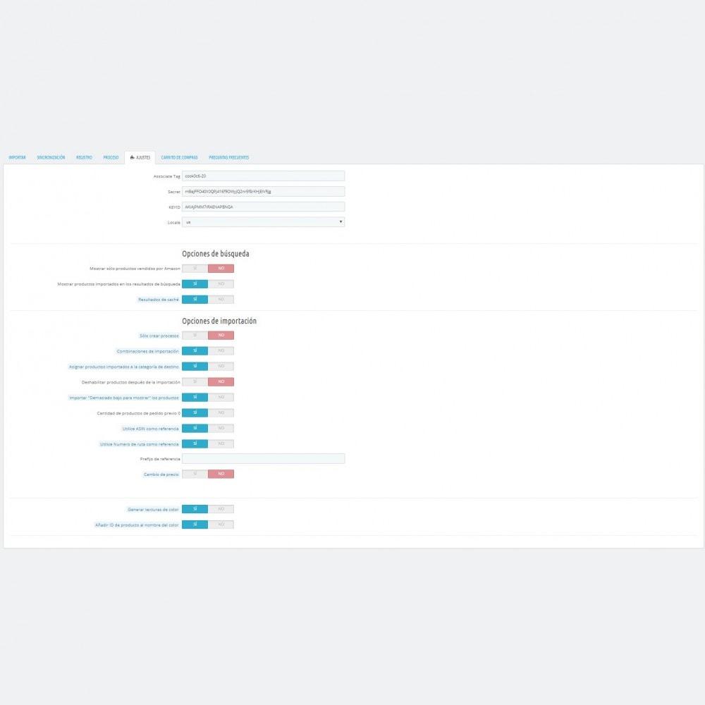 module - Marketplaces - Amazon Affiliate Shop Import - 2