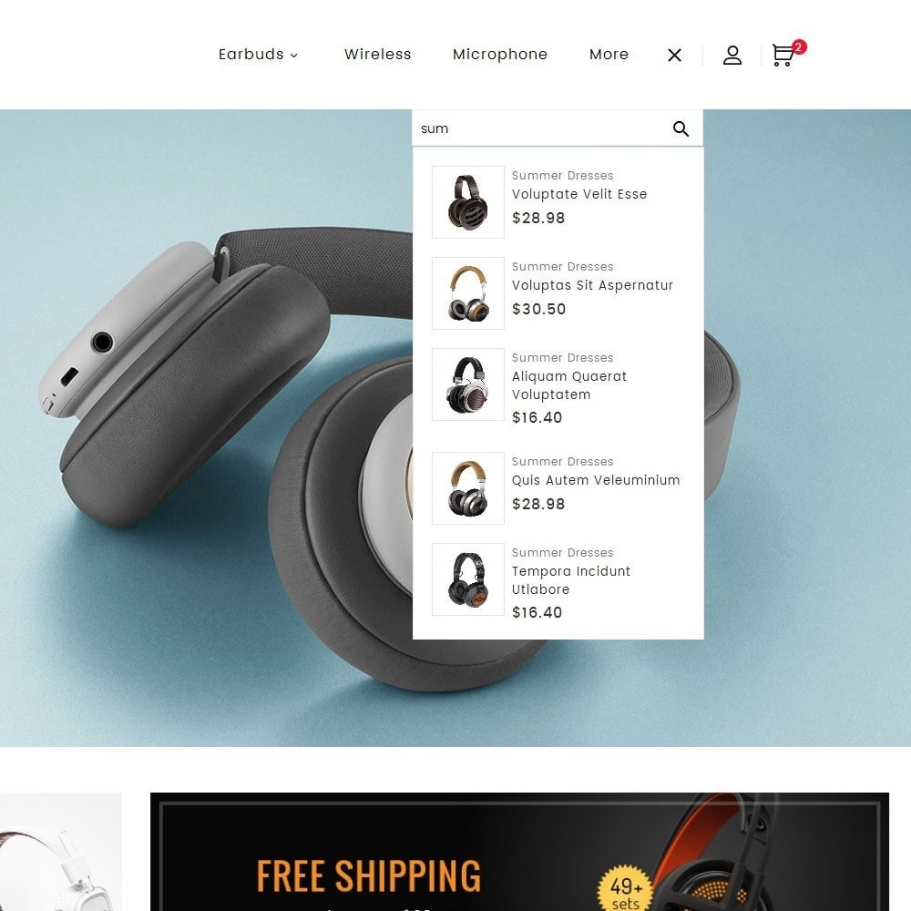 theme - Elektronika & High Tech - Headphone Store - 10