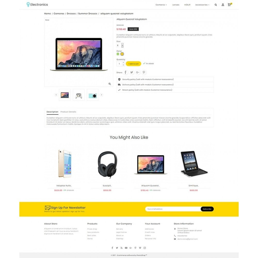theme - Электроника и компьютеры - Electronics Store - 5
