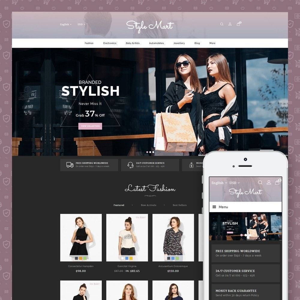 theme - Mode & Chaussures - Style Mart - Fashion Store - 1