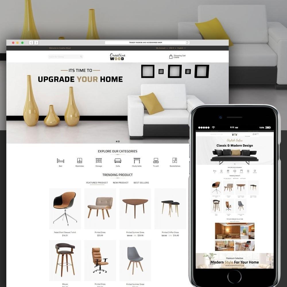 theme - Huis & Buitenleven - Creative Wood - 1