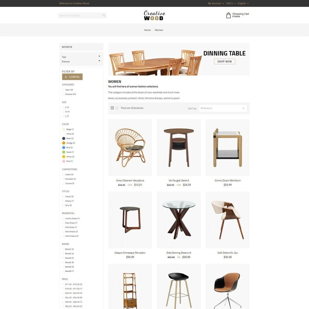 theme - Maison & Jardin - Creative Wood - 4