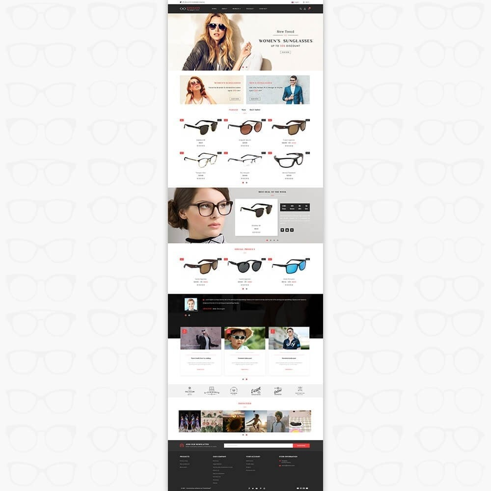 theme - Fashion & Shoes - Goggles - The Goggles Store - 2