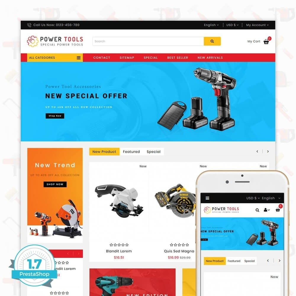 theme - Auto & Moto - Power tools - Special Power Tools - 1