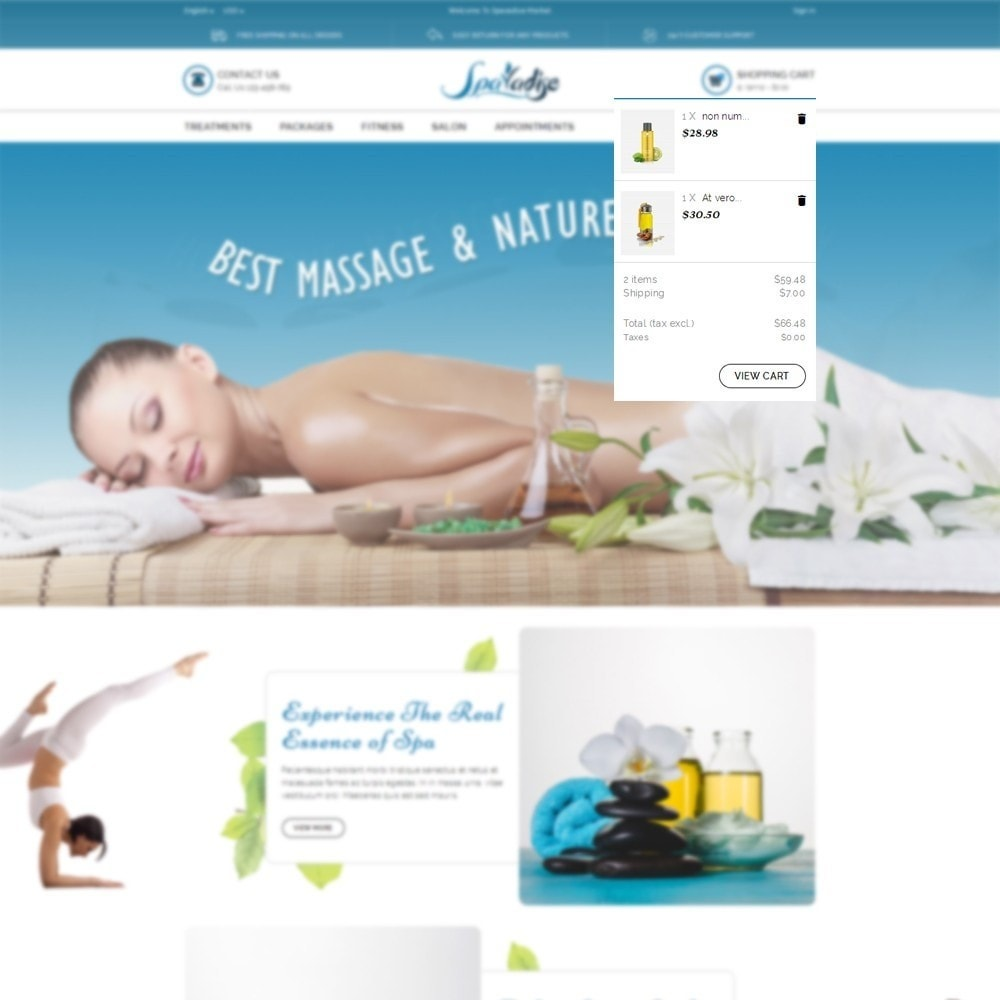 theme - Salute & Bellezza - Spaladies Store - 6