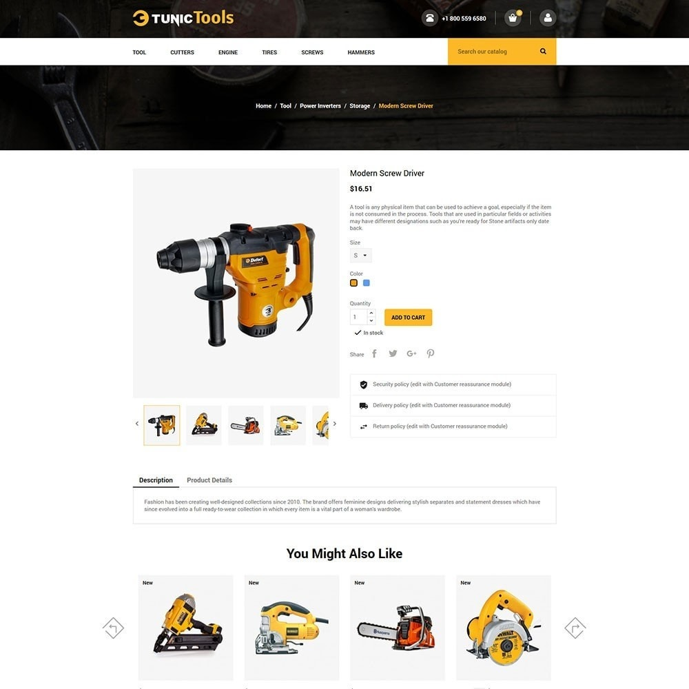 theme - Auto's & Motoren - Mega Tool Store - 5
