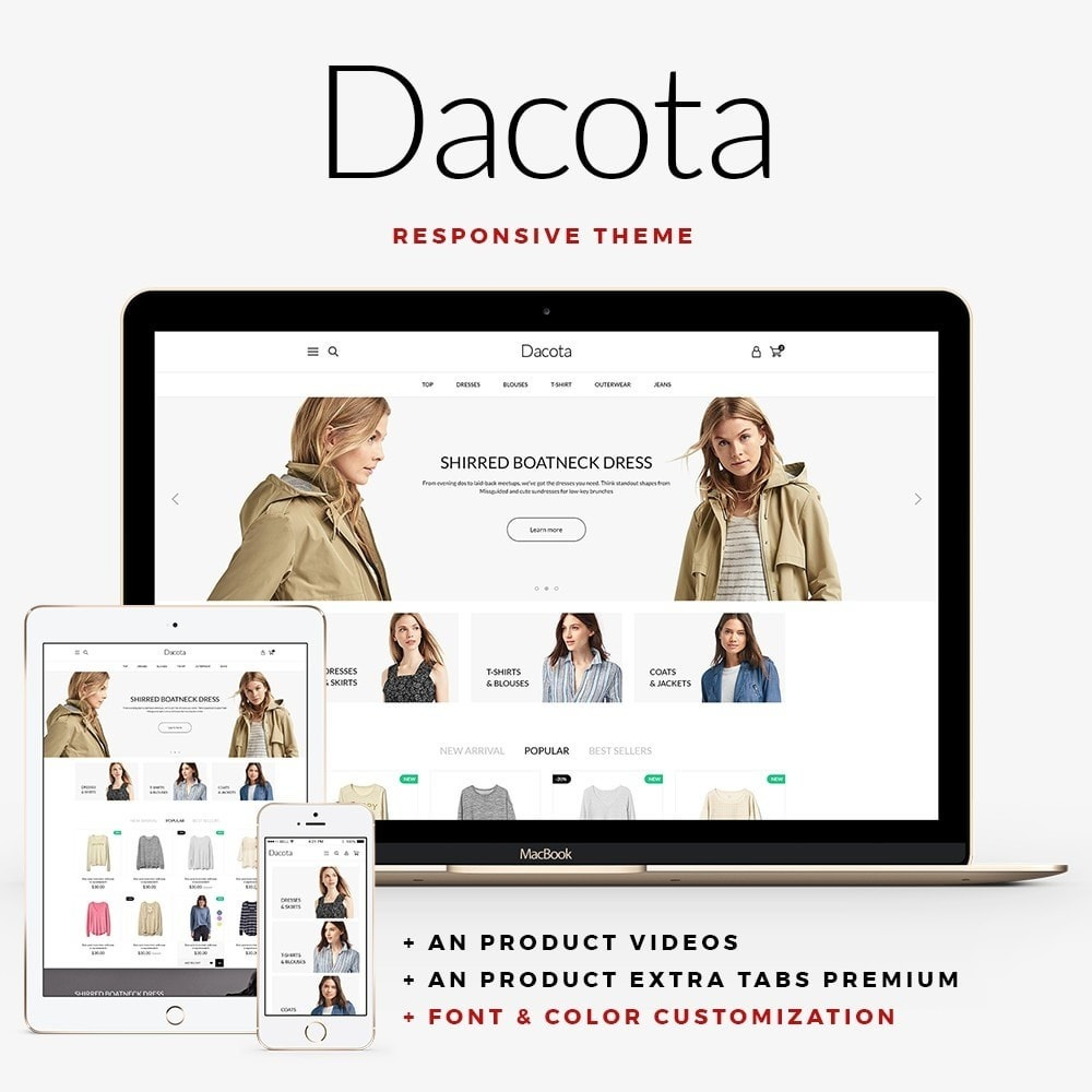 theme - Mode & Schoenen - Dacota Fashion Store - 1