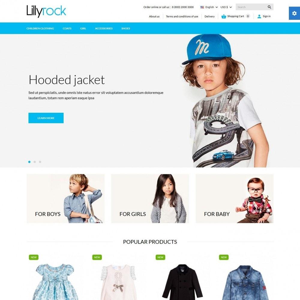 theme - Crianças & Brinquedos - Lillyrock - 2