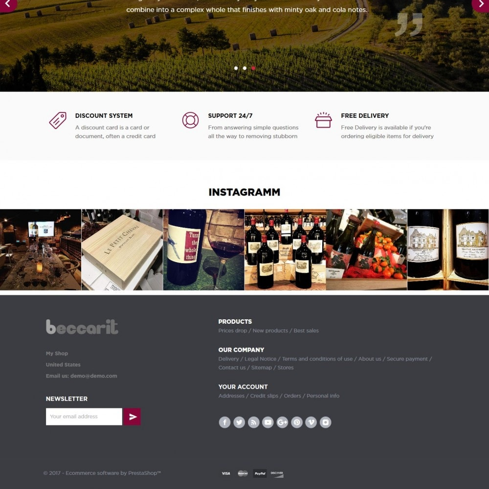 theme - Drink & Wine - Beccarit Shop - 4