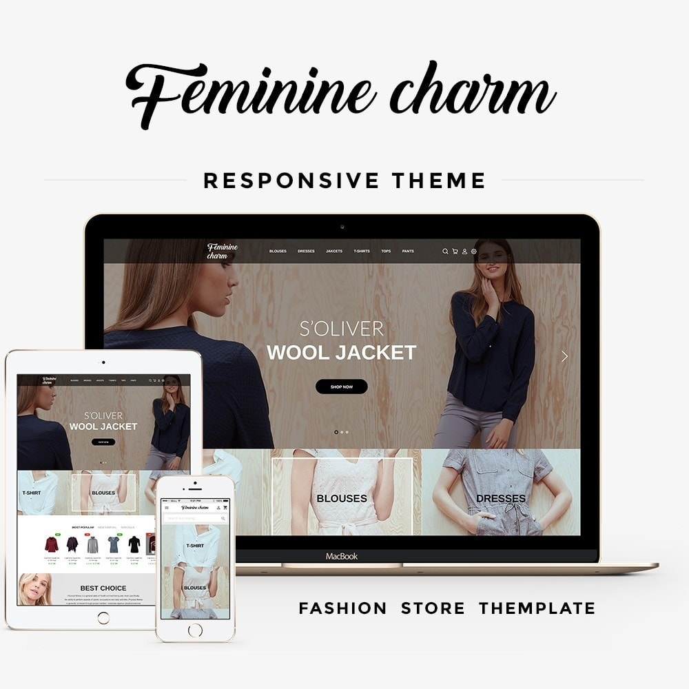 theme - Moda & Obuwie - Feminine Charm - 1