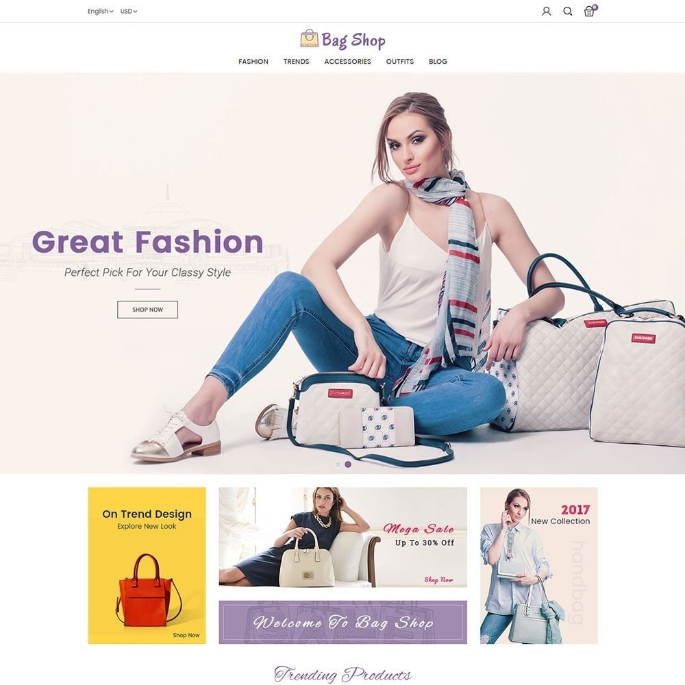 theme - Moda y Calzado - Bag Shop - 2