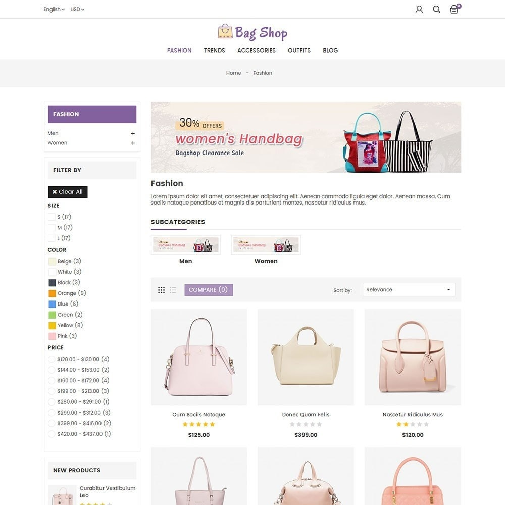 theme - Moda y Calzado - Bag Shop - 3