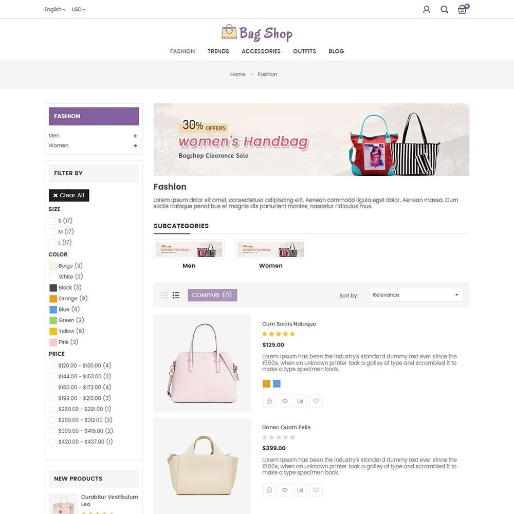 theme - Moda y Calzado - Bag Shop - 4