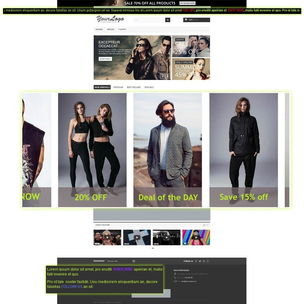 module - Bloques, Pestañas y Banners - Marquee, Banners with Scrolling Text or Images - 2