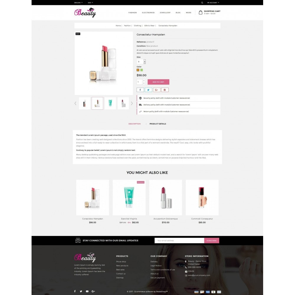 theme - Gezondheid & Schoonheid - Beauty Store - 5