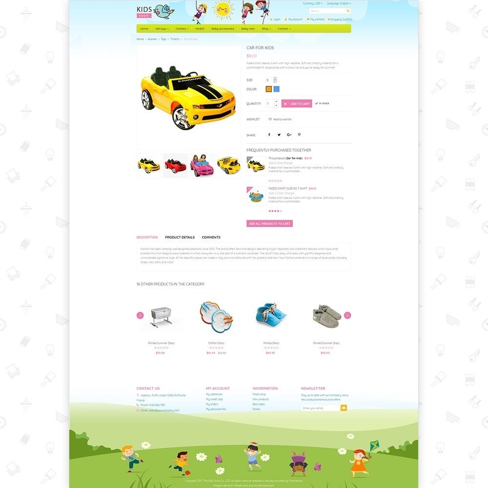 theme - Дети и Игрушки - Kids Shop - All in one package - 4