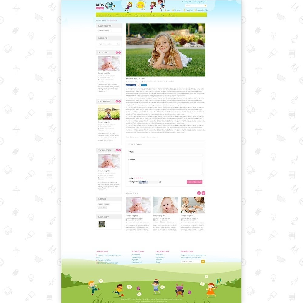 theme - Дети и Игрушки - Kids Shop - All in one package - 6